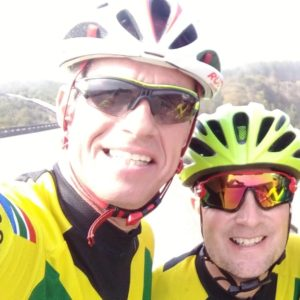 Raising funds for Grootbos Foundation by bike